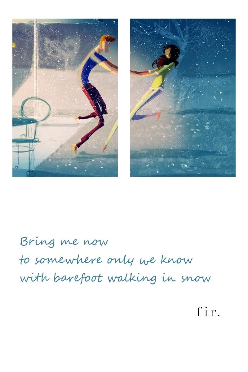 haiku snow